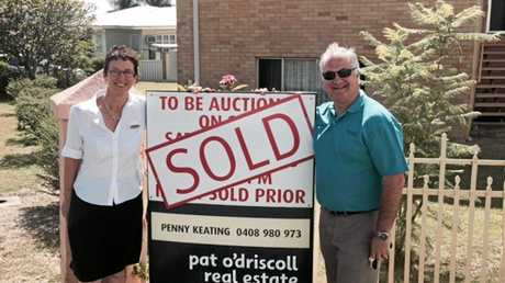 Pat O'Driscoll agents Penny Keating and Doug Webber sold 56 Agnes St, The Range.