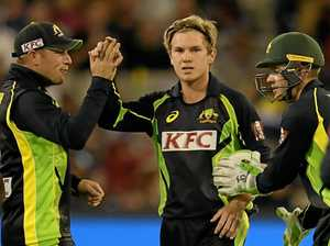 DREAM: Adam Zampa wants to be Australia's spinner in the Champions Trophy.