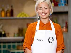 STILL COOKING: MasterChef Australia contestant Tamara Graffen, who grew up in Mackay, was facing elimination after failing to identify cucumber in a blind taste test.