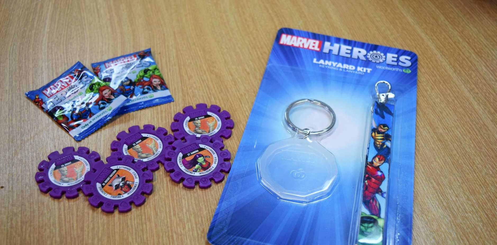 Woolworths Marvel Heroes Super Discs are the latest craze in collectables.