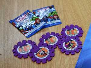 Woolworths Marvel Heroes Super Discs are the latest craze in collectibles.