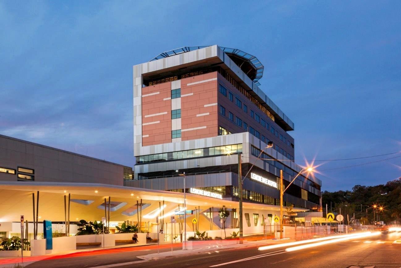 Lismore Base Hospital.