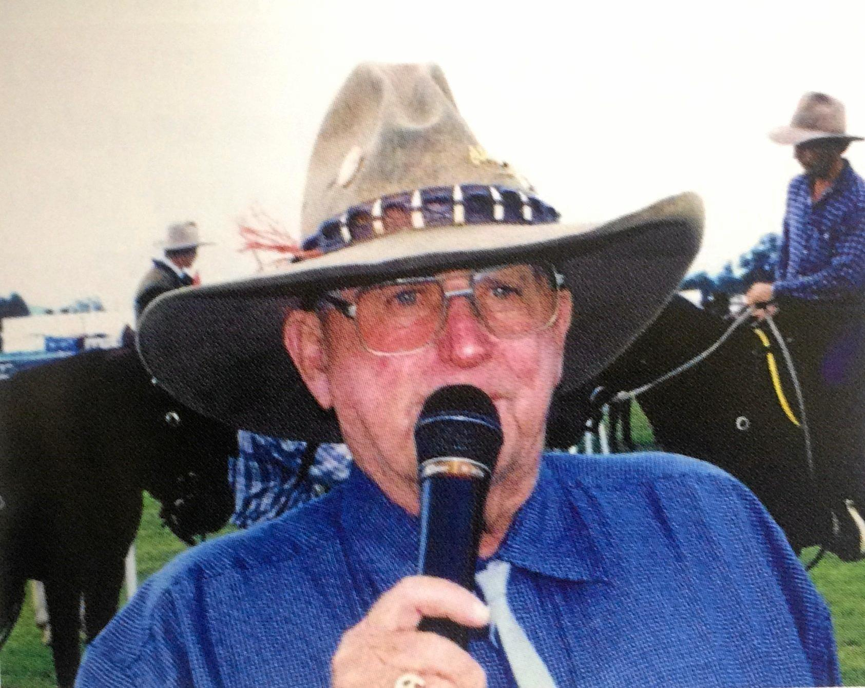 Alain Henderson, calling the Show in the early 90s. The brief history of the Gympie Show.