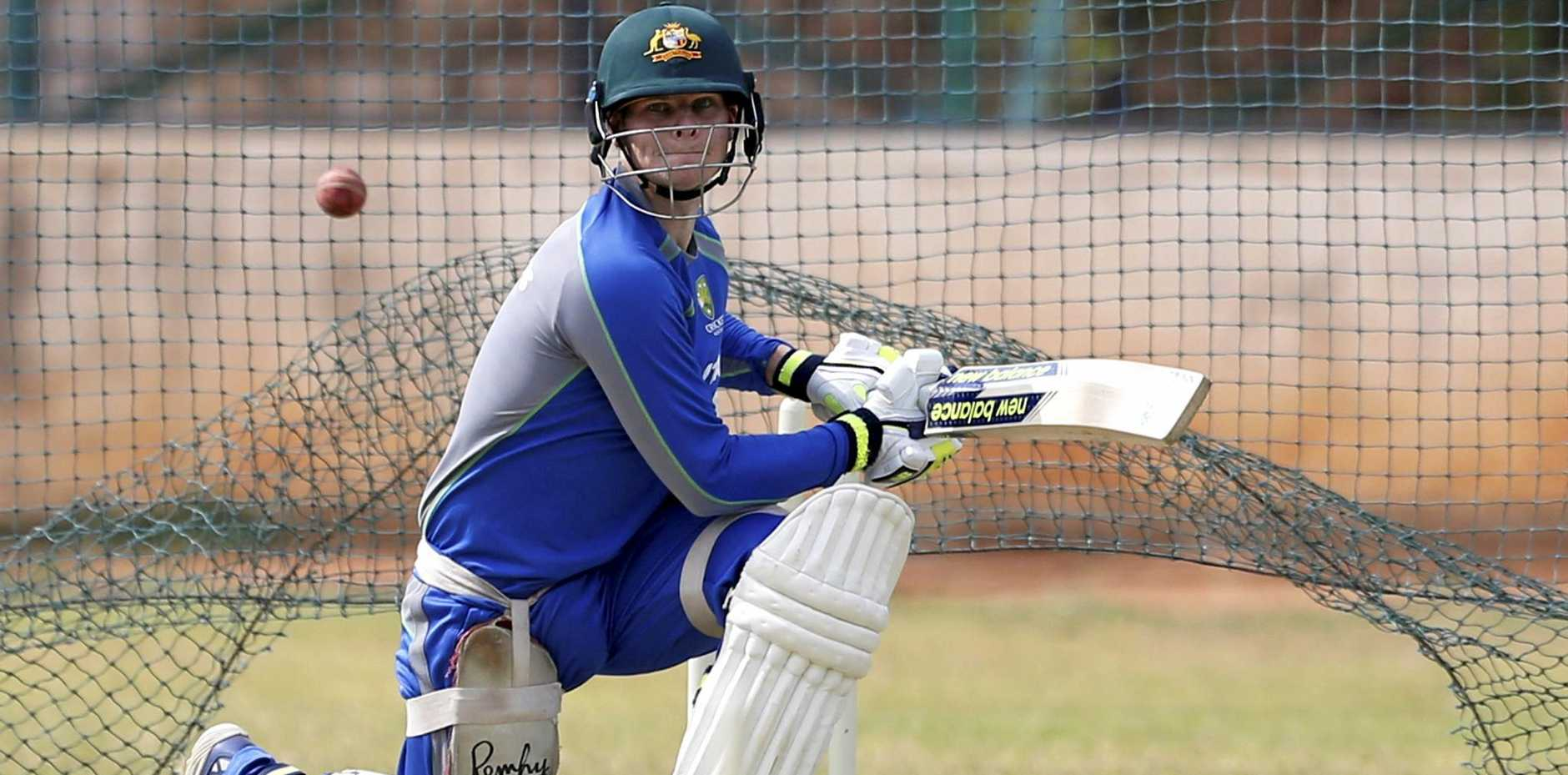 NEW FOCUS: Australia's captain Steve Smith is using trial games to get his side used to 50-overs cricket after the IPL season.