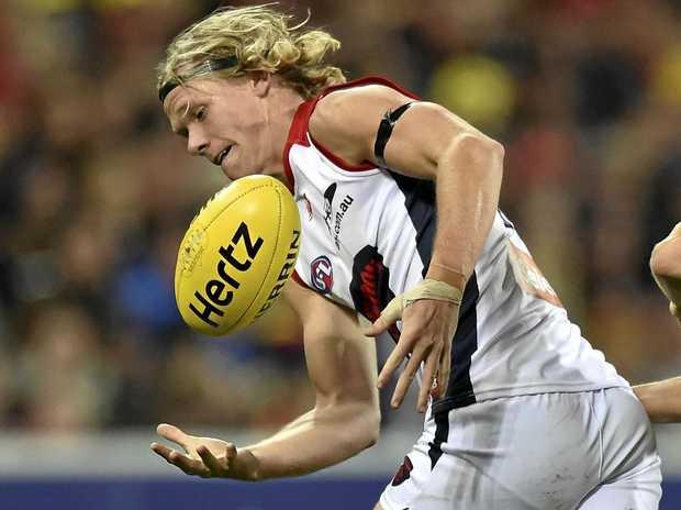 Melbourne Demons player Josh Wagner.