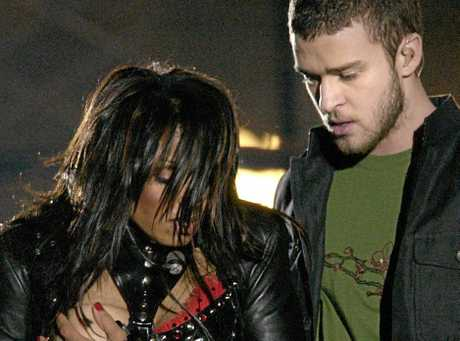 "Justin Timberlake's 2004 performance with Janet Jackson sparked ""nipplegate""."