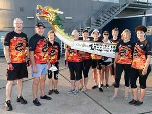Dragons to roar in Hervey Bay for the series
