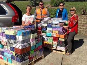 Shoeboxes of Love a gift of kindness
