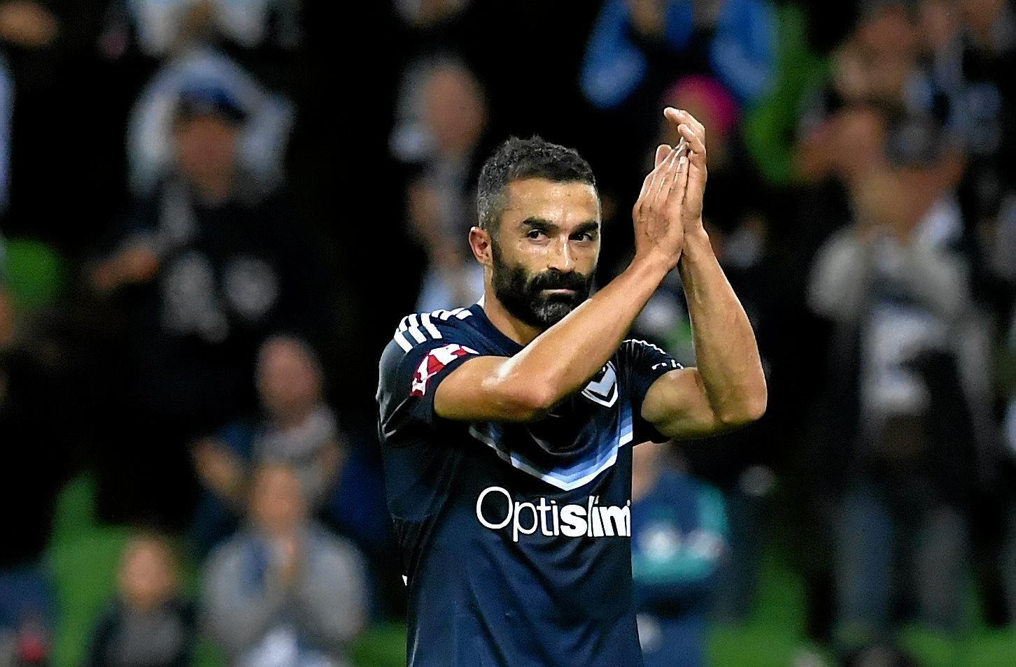 BRISBANE BOUND: Fahid Ben Khalfallah has signed with the Roar for next season.