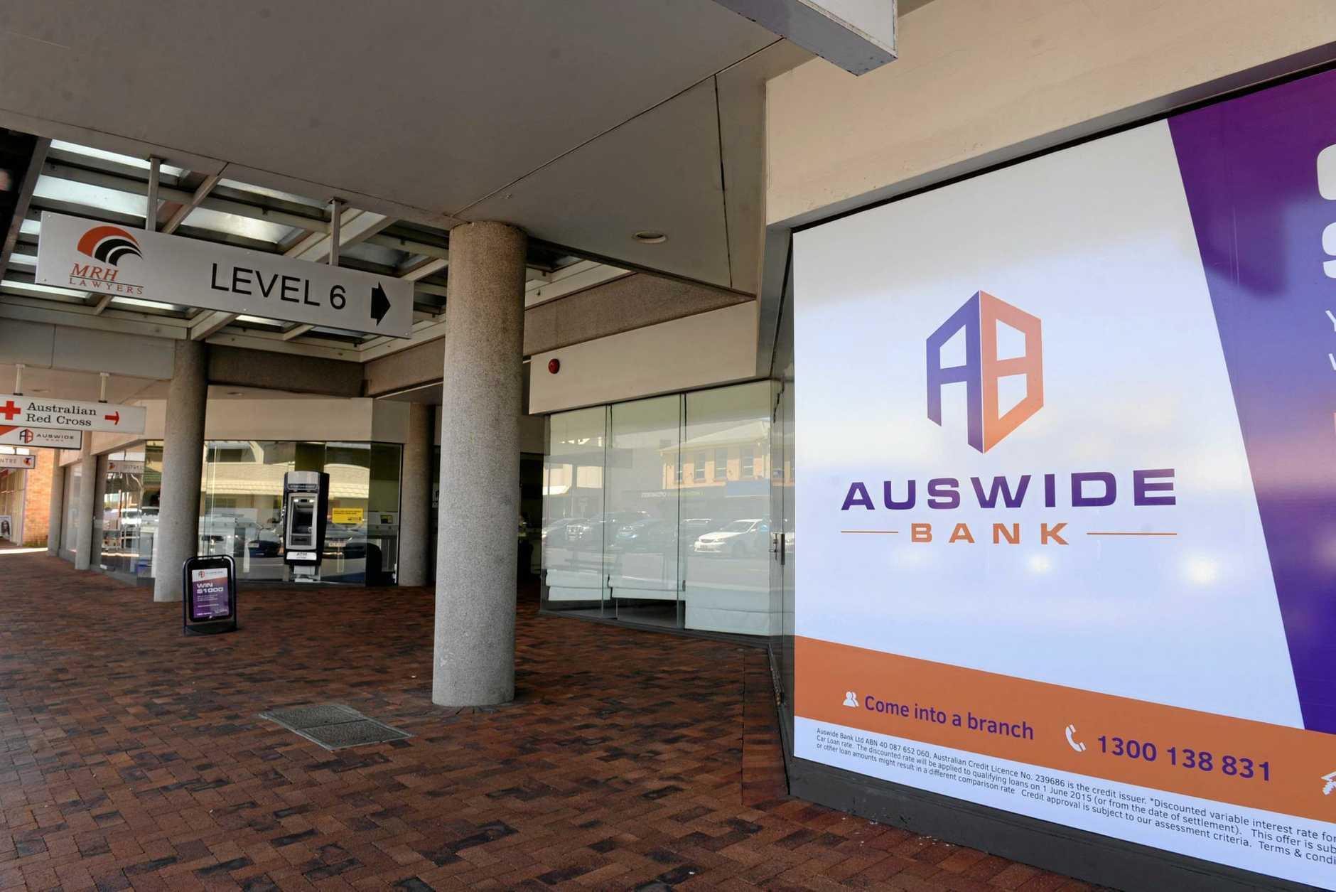 Auswide Bank Bundaberg.