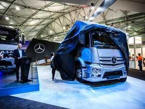 Mercedes-Benz wins Best Heavy Duty Truck