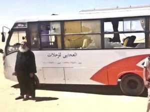 Bus full of Coptic Christians gunned down in Egypt