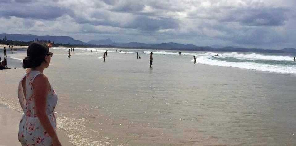Residents have made calls for beachgoers to report sexual harassment to local police.
