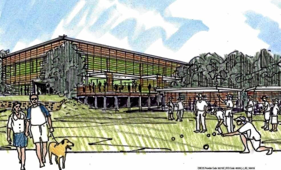 ON THE WAY: An artist's impression of the aged care facility at Derby St.