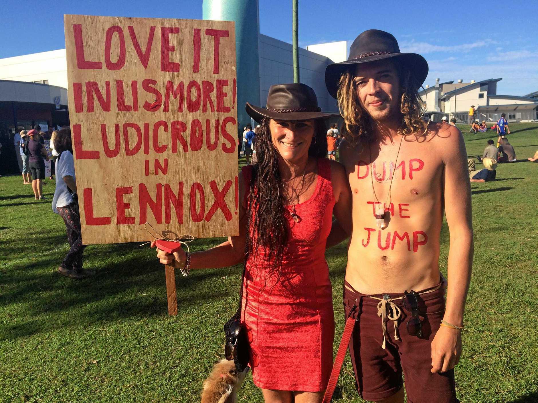 Lennox Head couple Sherrie Yeomans and Josh Kelly.