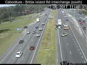 'Traffic banking up fast' following crash on Bruce Highway
