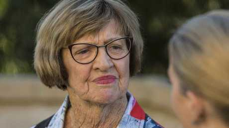 "Margaret Court says the interview on The Project was ""below the belt"". Picture: Ross Swanborough"