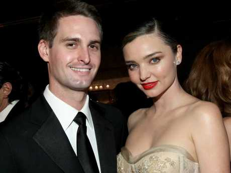 Evan Spiegel and Miranda Kerr aren't leaving their property to say their vows.