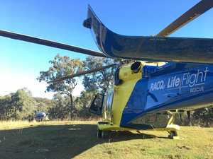 Coast LifeFlight chopper rescues injured tree-lopper