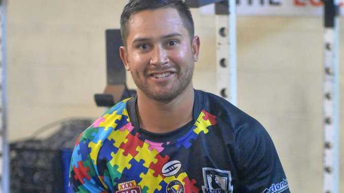 Marmin Bara has returned to Mackay to play for the Magpies after snapping his ankle playing for the Ipswich Jets in the Intrust Super Cup last year.
