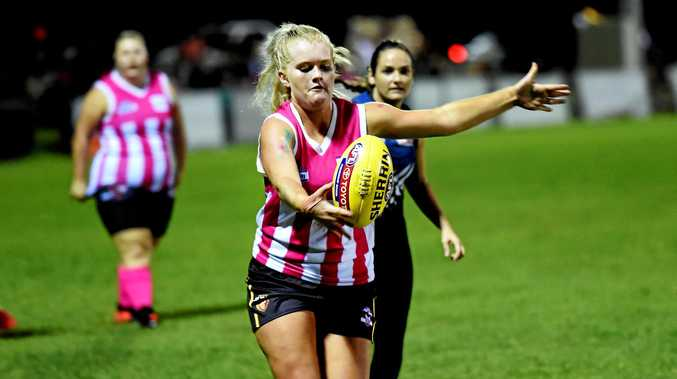 ONE STEP CLOSER: AFL Wide Bay hopes to start a women's competition in 2018.