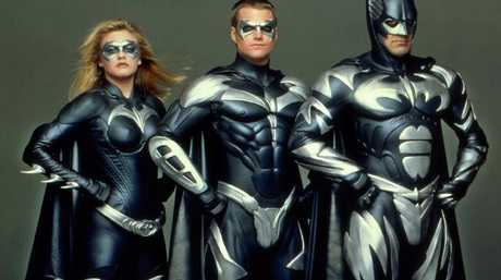Alicia Silverstone as Batgirl, Chris O'Donnell as Robin and George Clooney as Batman were each slammed for their roles in Batman & Robin.