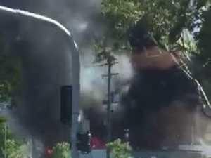 Fire destroys gymnastics centre