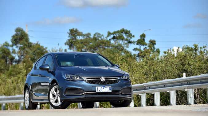 2017 Holden Astra RS.