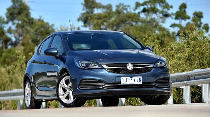 HATCH JOY: Lusty 1.6-litre turbo engine offers a strong 147kW and 300Nm in Holden's impressive Astra in RS trim. It is priced from $26,240 plus on-roads with auto gearbox.