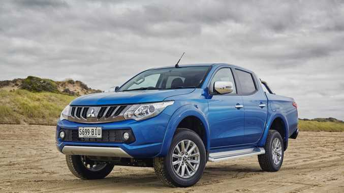 DOUBLE CAB: Mitsubishi Triton GLS takes on the Nissan Navara ST in our dual cab twin test