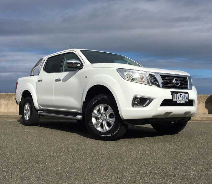 Nissan Navara ST (2017 model). Picture: Supplied.