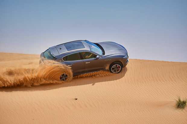 2017 Maserati Levante S with 3.0-litre twin-turbo V6 petrol engine.