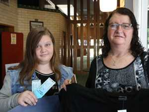 Gympie Times prize winners: Beverly Thomsen and