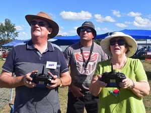 Ken Dawes, Cameron Kiehne and Iris Hensel.