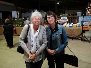 Bronwyn Fife and Lindy Clarke at That Night for Art