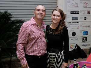 Chinchilla Show Art chief steward Wes Irwin with wife