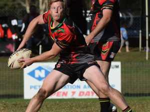 Locky Miller of the Sawtell Panthers on the move