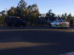 Police officer shot Lockyer Valley
