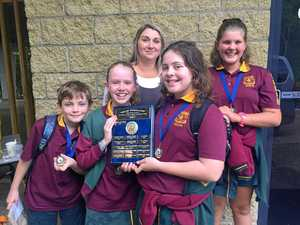 Primary students make school history