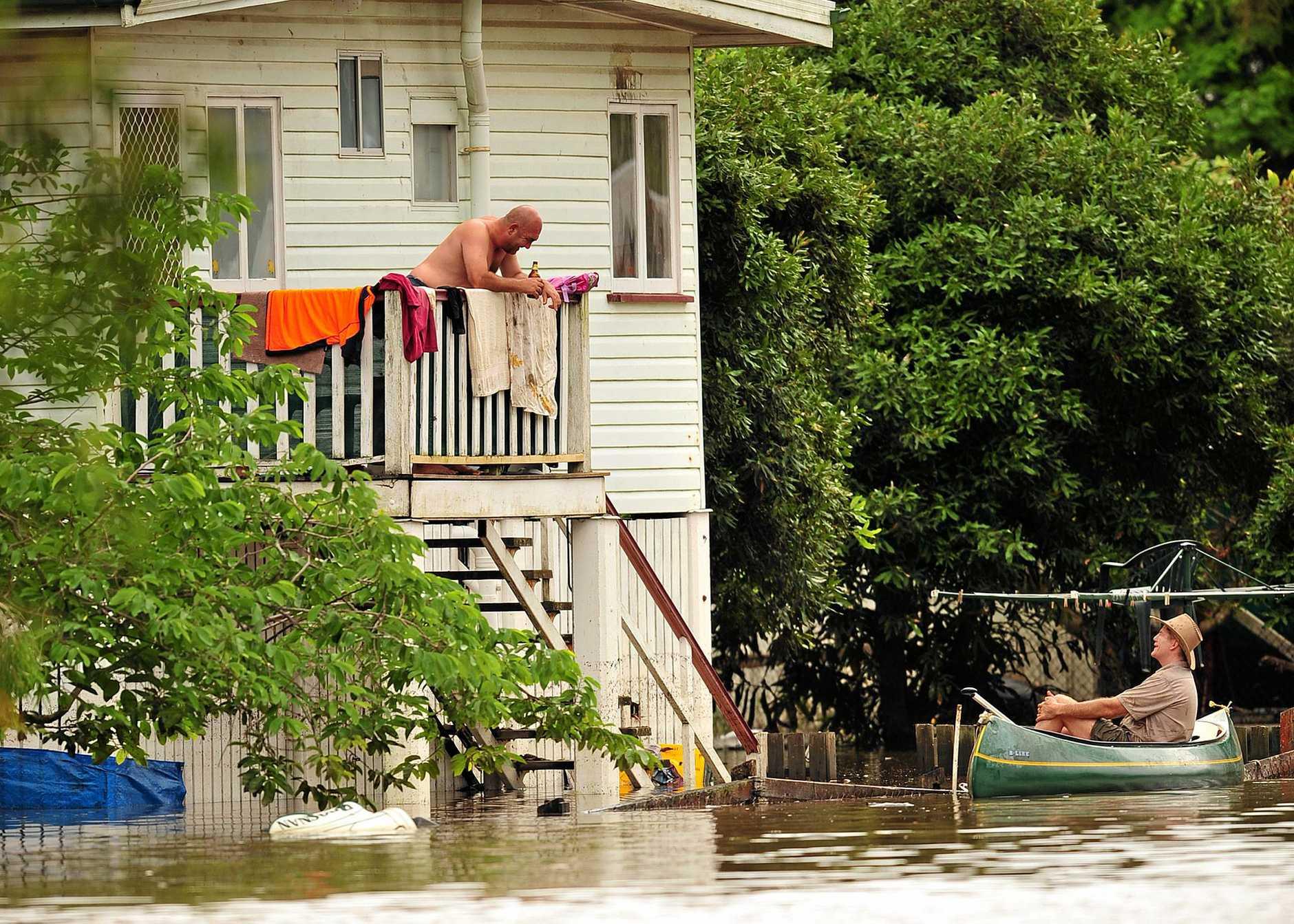 Songwriter honours flood volunteers who helped their neighbours.