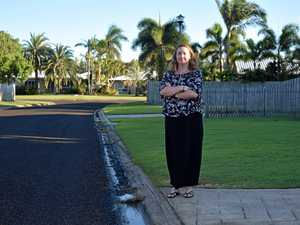 NOT HAPPY: Bucasia mother, Hayley Saron was angered after her daughter and cars were sprayed with tar.