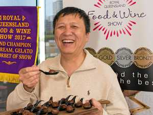 Gelato scoops up at food and wine show