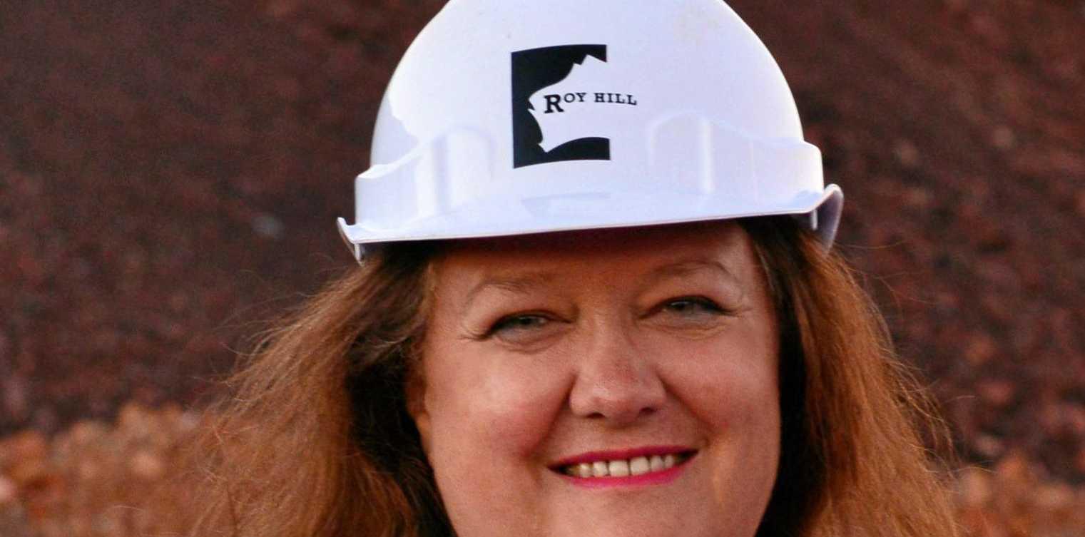 Gina Rinehart has been listed as Australia's richest farmer.