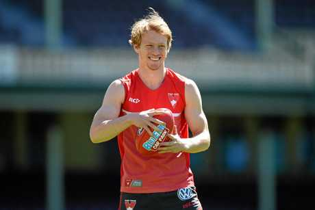 Sydney born and bred Callum Mills is a future Swans captain.