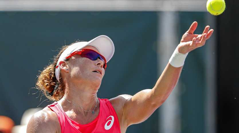 READY FOR PARIS: Samantha Stosur is excited by her French Open chances.