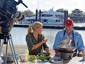 TASTE TEST: Co-owner of Fish D'Vine, Kev Collins joined Justine Schofield on her television show Everyday Gourmet this morning.
