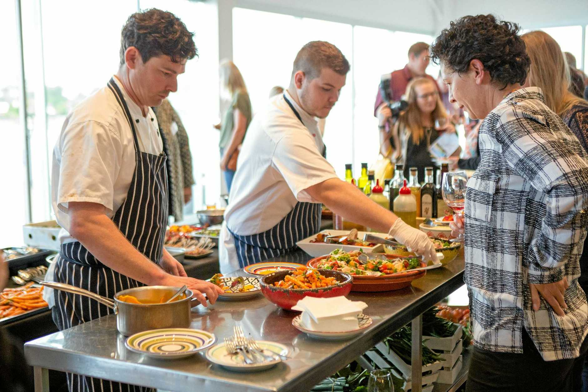 Hundreds of people get a taste of what this year's Scenic Rim Eat Local Week has to offer.