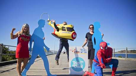 Get involved in the Westpac Helicopter charity walk and dress up as your favourite super hero.