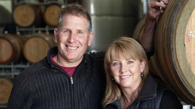 Greg Cooley, of Greg Cooley Wines, and his wife Kelli will host a wine lunch at The Vinyard Bar and Restaurant on Saturday, starting about noon.