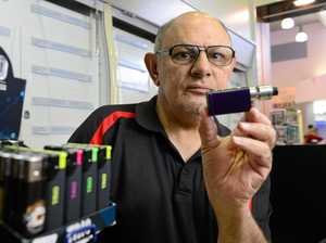 DEMAND: Tobacco Station Group Riverlink's Naeem Ismail started stocking e-cigarettes four months ago.